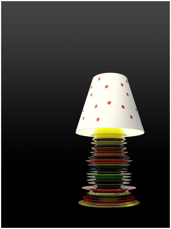 Plate Lamp?