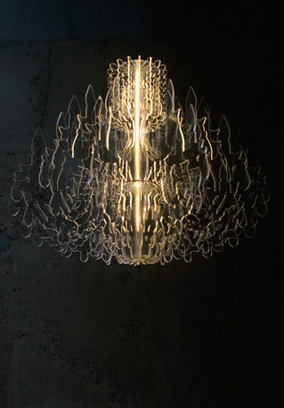 """""""Therese,"""" A Chandelier by Dave Keune and Sander Mulder"""