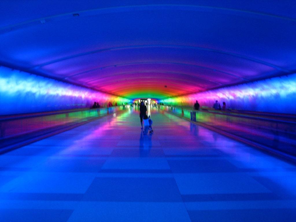 The McNamara Tunnel Detroit Airport Jim On Light