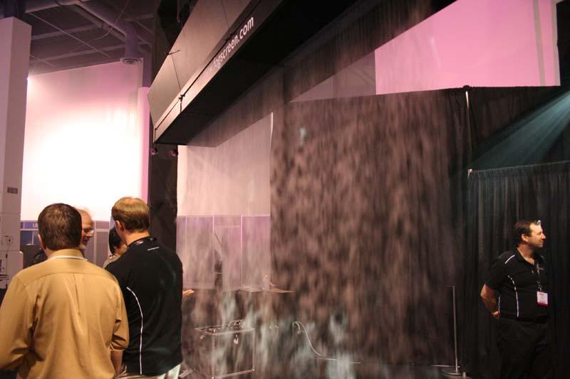 Fog Screen at LDI