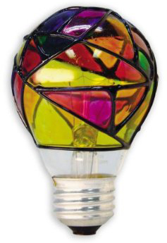 """Stained Glass Light Bulb – """"Lamp,"""" to the Professional"""