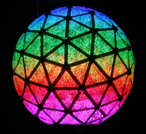 Times Square Ball, Through the Ages!  [Infographic]