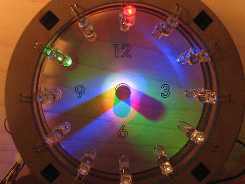 The Bulb Dial Clock