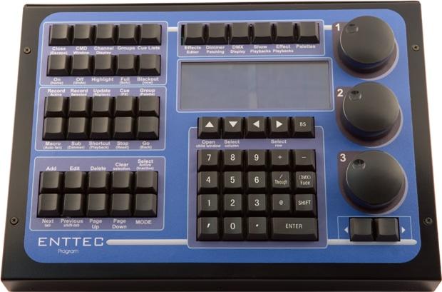 enttec programming wing