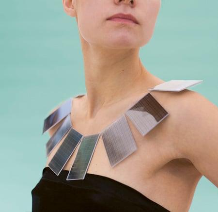 lux solar necklace