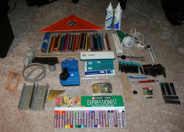 drafting supplies