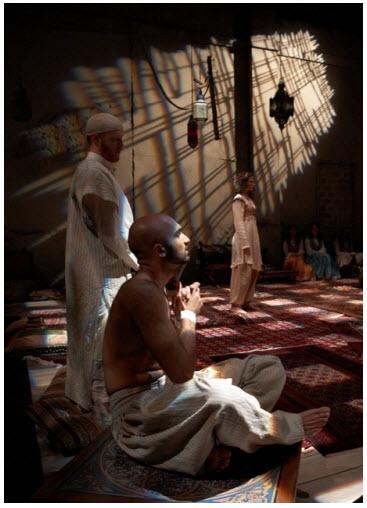 arabian nights looking glass