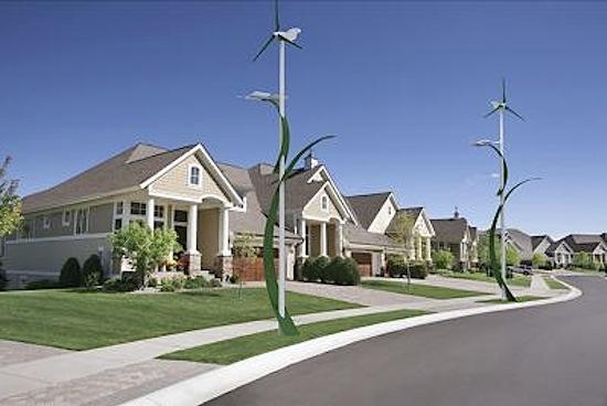 solar wind streetlamp