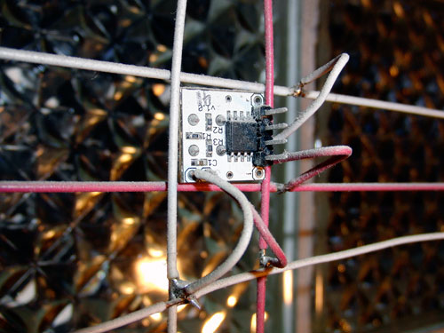 A DIY Glass Block LED Display
