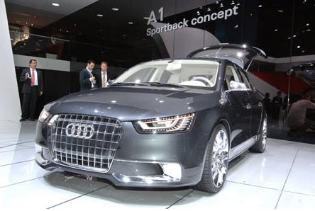 Audi's A1 LED Headlight Designer and His Baby