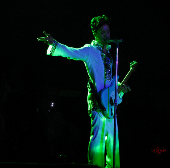 Prince and The Revolution Lighting