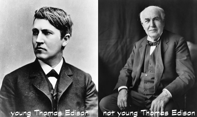 Happy 164th Birthday, Thomas Alva Edison!