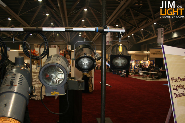 Five Decades of Lighting – USITT 2010 Lighting Commission Special Exhibit – Fixtures Edition