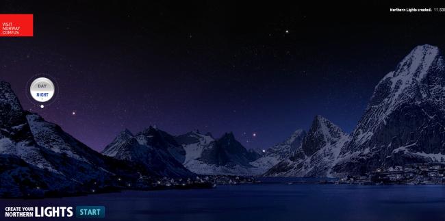 Create Your Own Northern Lights!  Ah, Aurora Borealis, You Make Good Web 2.0