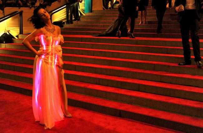 Katy Perry's Light Up Dress