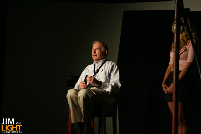 Bill Klages Teaches Television Lighting at ETC's Summer Camp
