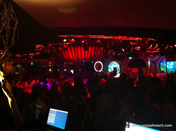 Aron Altmark Lights Benny Benassi at FLUXX San Diego