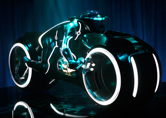 A Custom-Built Tron Lightcycle – for only $35,000