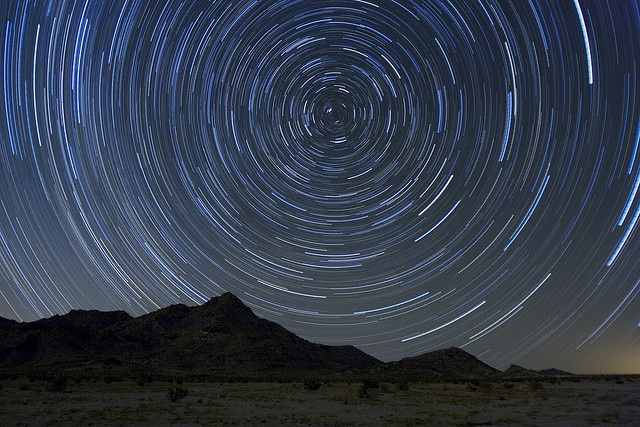 Leonids Star Trails
