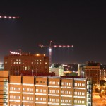 Devon Tower cranes