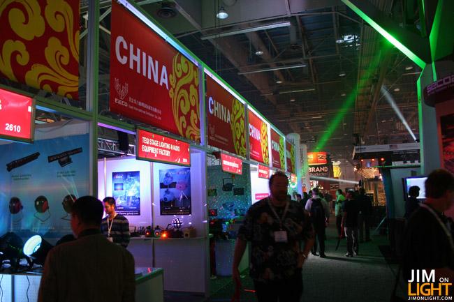 Chinese Lighting Manufacturers at LDI 2010