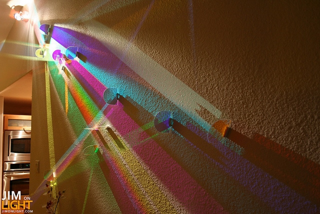 dichroic light art via Rick Hutton