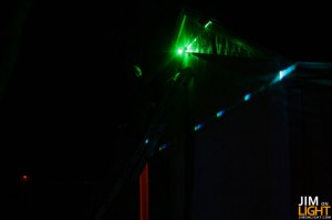 Rick and the Green Laser
