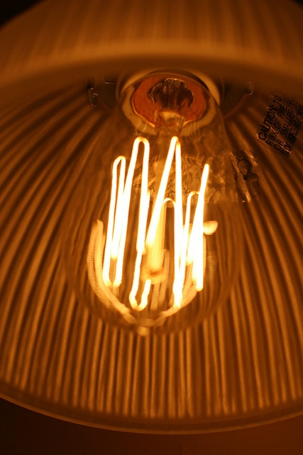 """Squirrel Cage"" lamp"