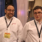 Larry Zoll and Peter Kirkup from Cooper Controls