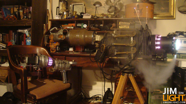 Mac Millan's Amazing DIY Raygun Props – STEAMPUNK!