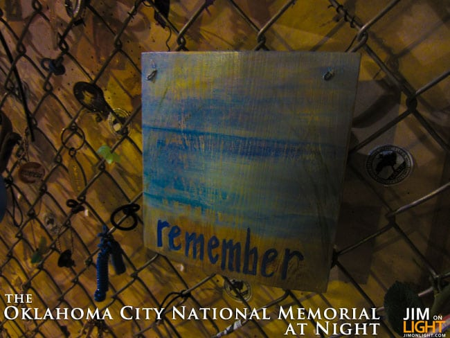 Oklahoma City National Memorial at Night — A Photo Tour