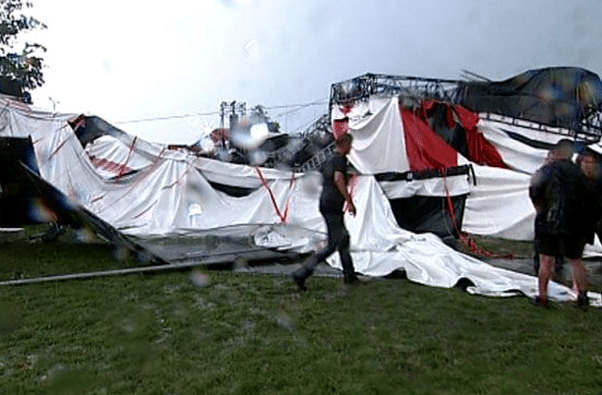 PukkelPop Festival Roof Collapse, 3 Dead, 70+ Hurt
