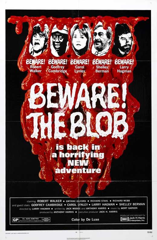 Beware! The Blob