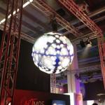 That's an LED globe.