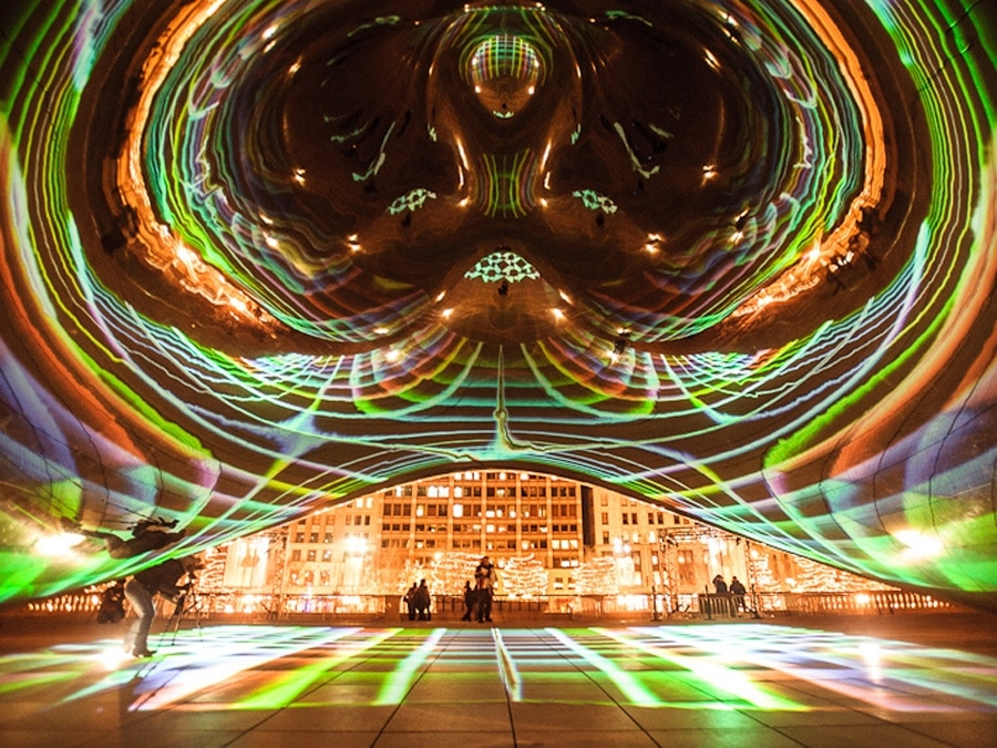 Luminous Field – A Projected Reality in Chicago