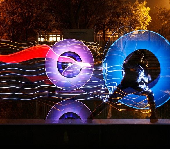 Real-Time Light Painting!