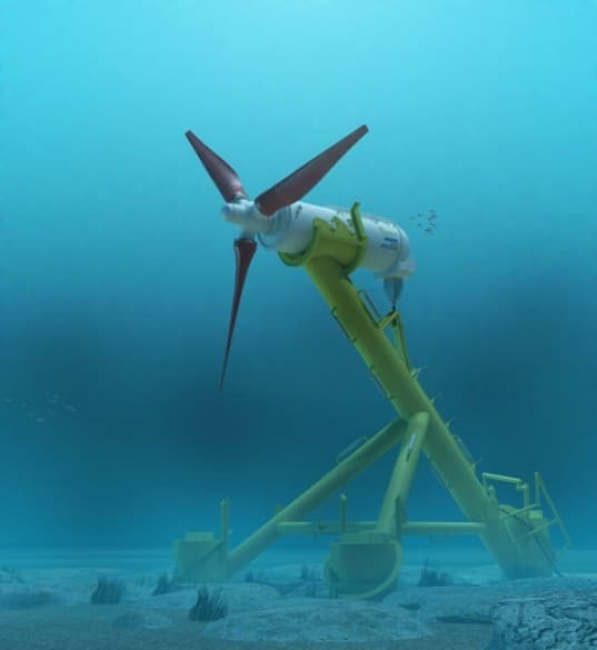 Wanna Whine about Wind Turbines? This Company Put Them Underwater