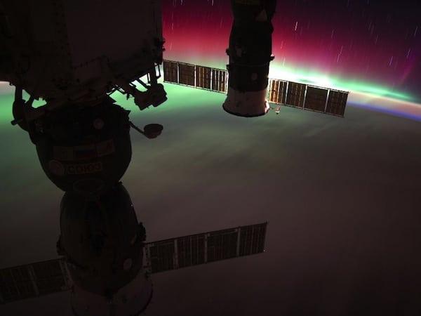 ISS-aurora