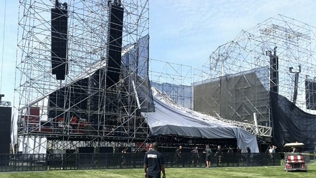 Radiohead Stage Collapse in Toronto — 1 Dead, 3 Wounded