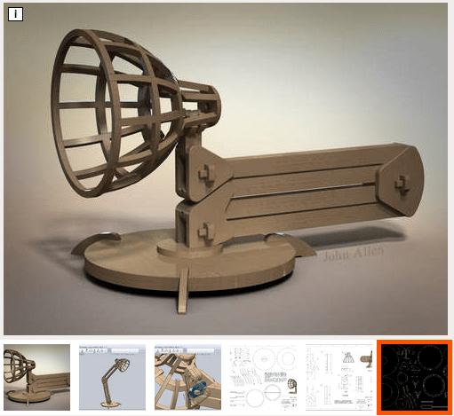 The John Allen Lamp Project