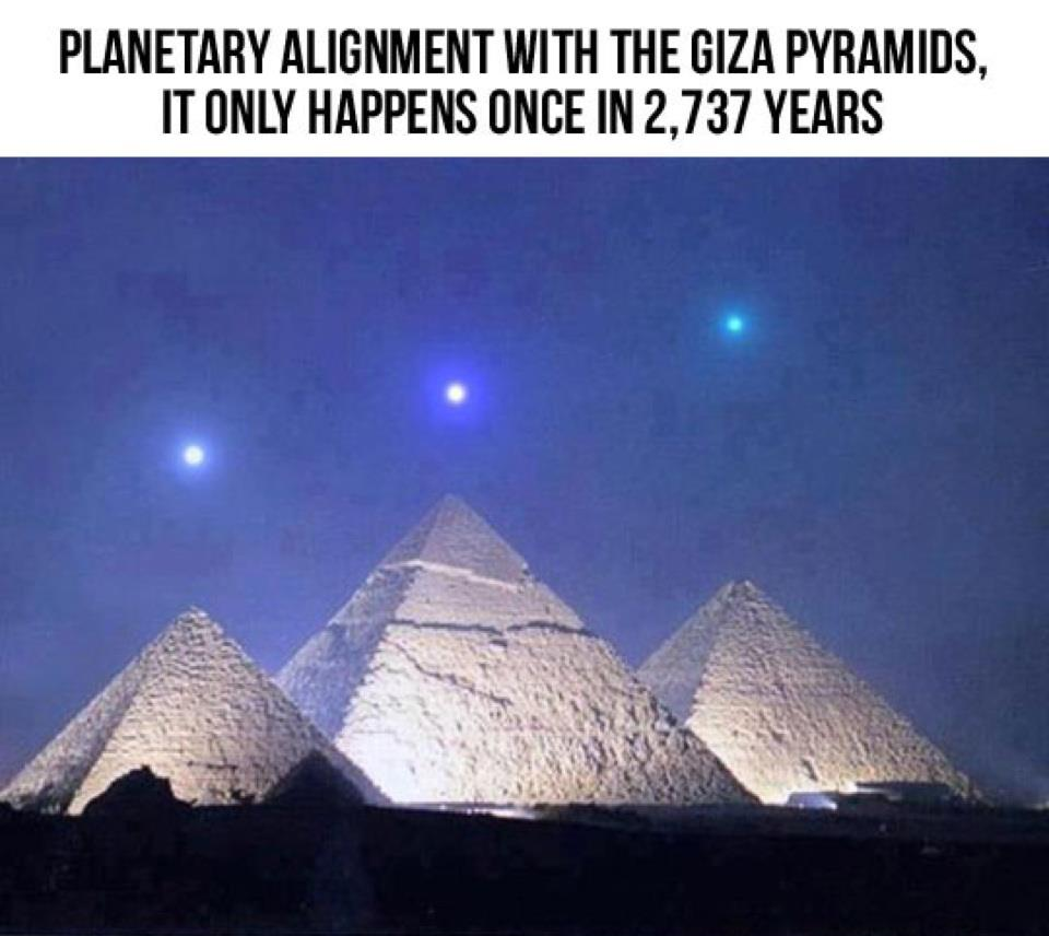 Hate to Bust Your Cheops, But the Planetary Alignment Thing is Bullsh*t
