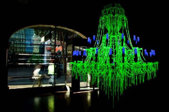 Vaseline Glass Chandeliers: A Response to Fukushima Daiichi