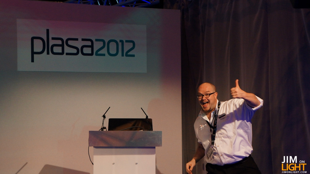PLASA 2012: Pick Up Your Face, It's Over