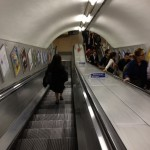 heading down to the Tube