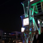 LA Live at night