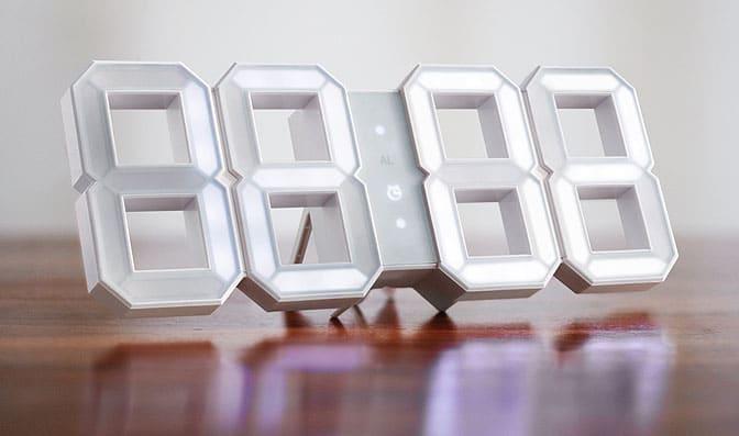 White & White LED Clock? Black & White LED Clock? Both, Thanks to Vadim Kibardin!