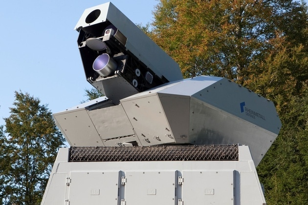 In Germany, It's the Drones that Get Struck – BY A LASER