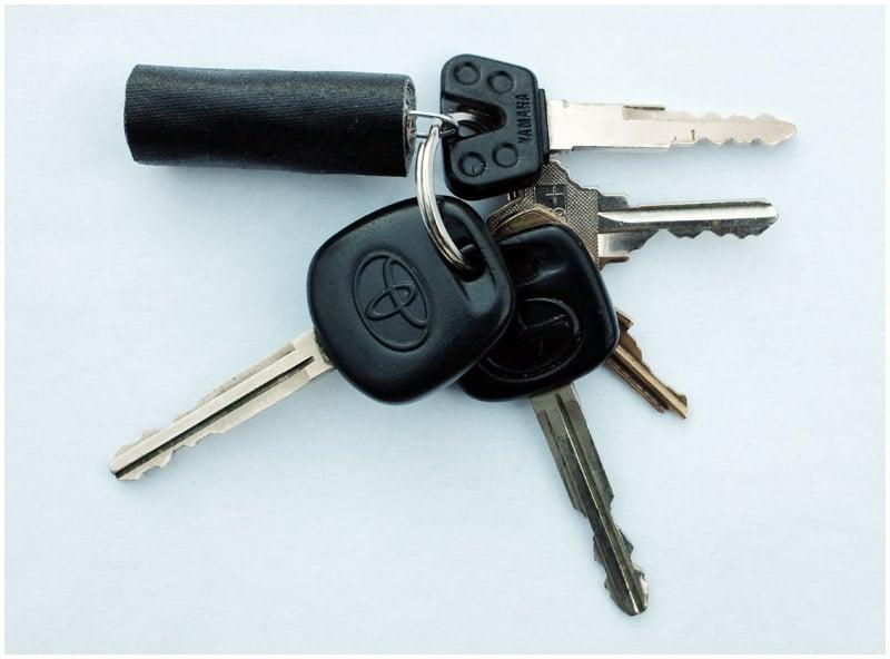 Gaffers and Grips – DIY Gaff Tape Key Fob