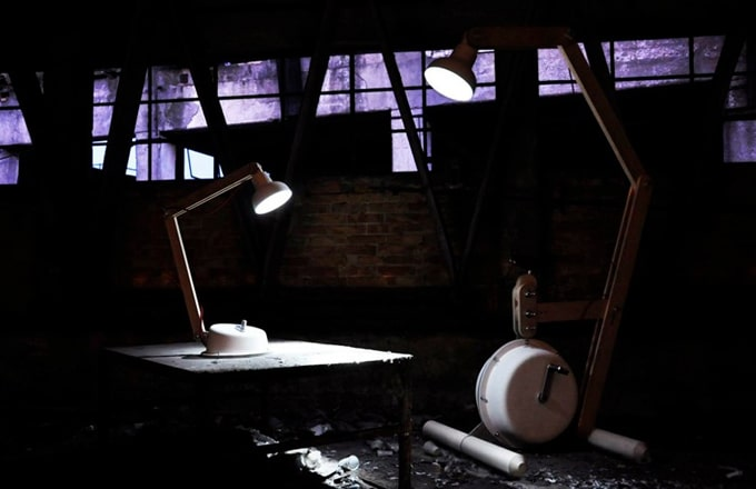 The Daily Lamp – Gionata Gatto's UNPLUGGED, A Lamp YOU Power