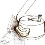Process Sketch:  Table Crank